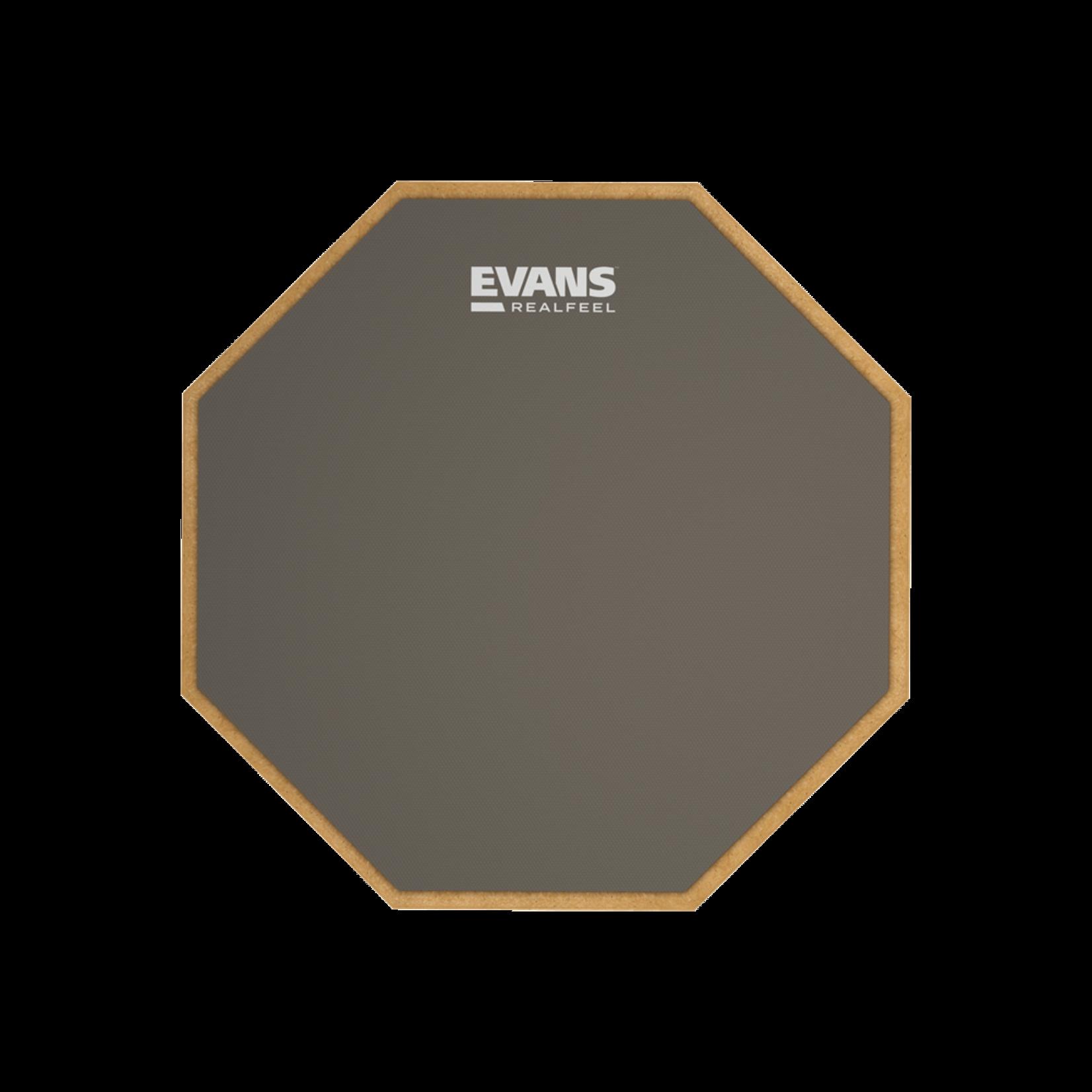 "EVANS RF 12"" 1-SIDED STANDARD PAD"