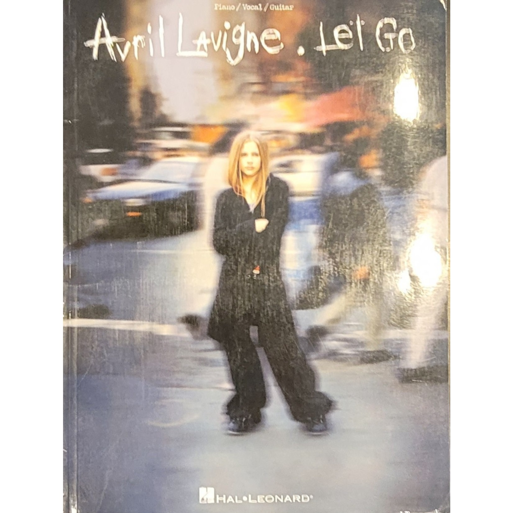 HAL LEONARD LIVRE LET GO/AVRIL LAVIGNE