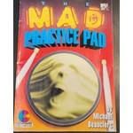 HAL LEONARD LIVRE THE MAD PRACTICE PAD/DRUM