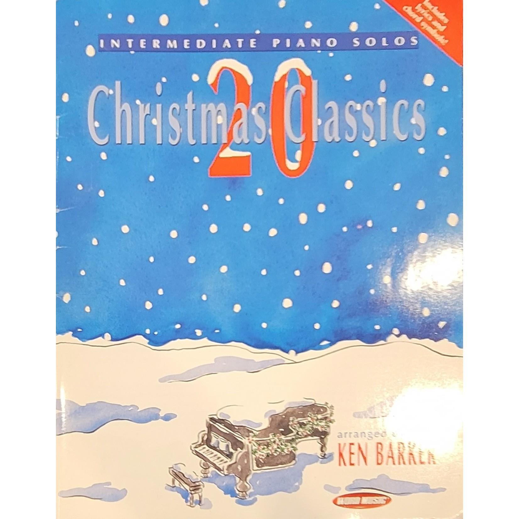 HAL LEONARD LIVRE INTERMEDIATE PIANO SOLO/ 20 CHRISTMAS CLASSICS