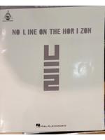 HAL LEONARD LIVRE NO LINE ON THE HORIZON/ U2