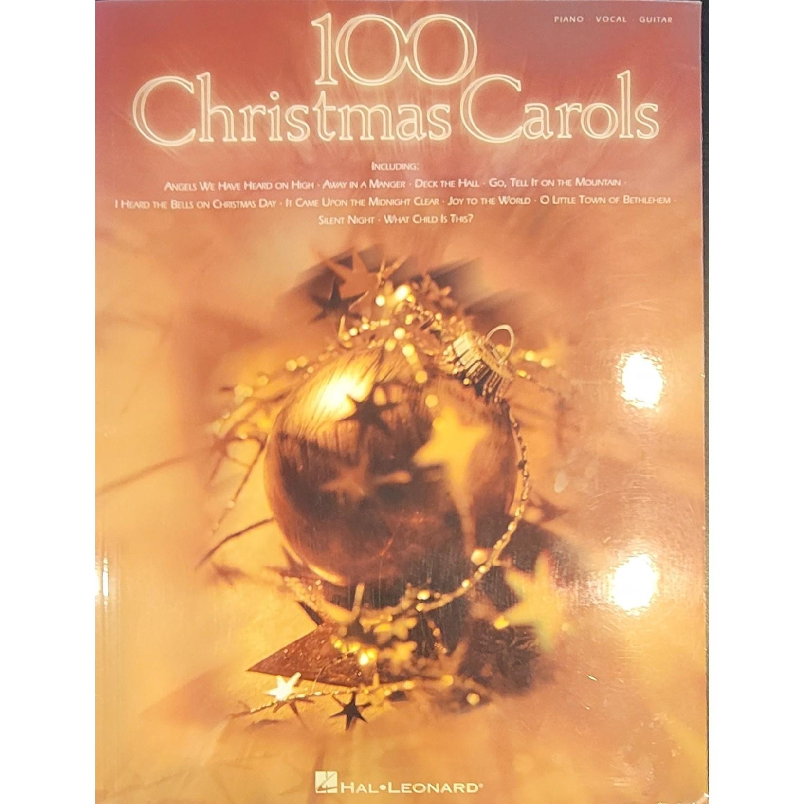 HAL LEONARD LIVRE 100 CHRISTMAS CAROLS