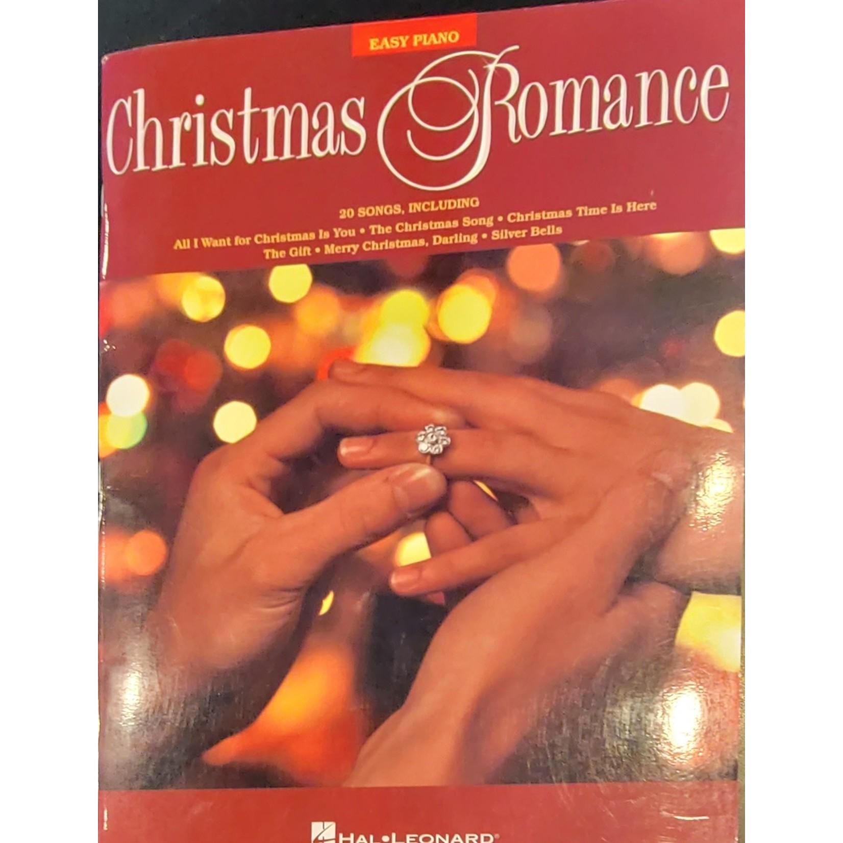 HAL LEONARD LIVRE CHRISTMAS ROMANCE/EASY PIANO