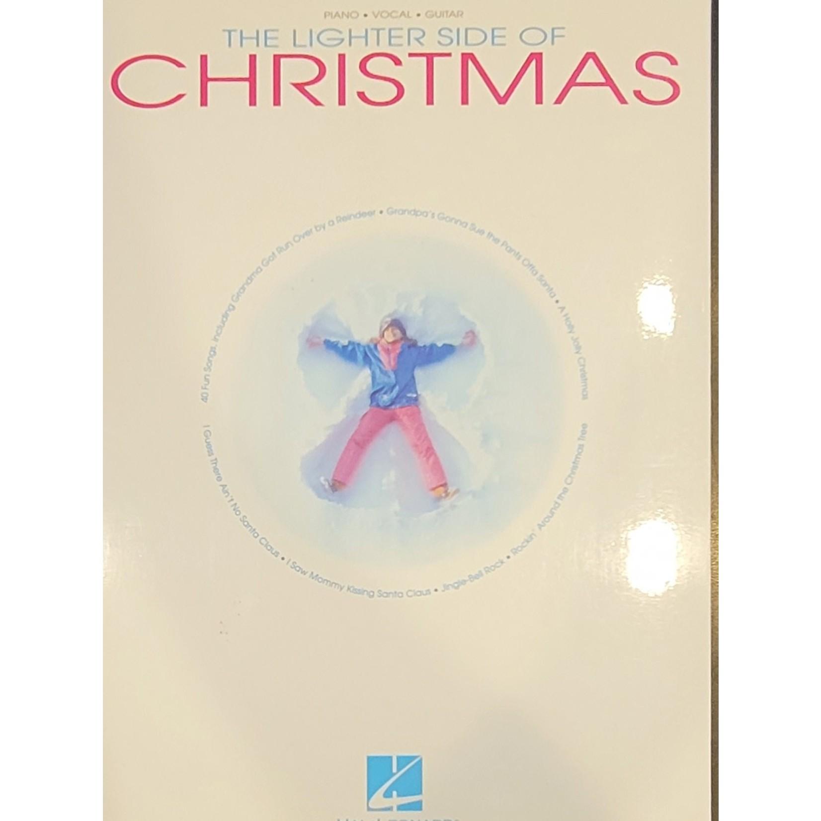 HAL LEONARD LIVRE THE LIGHTER SIDE OF CHRISTMAS