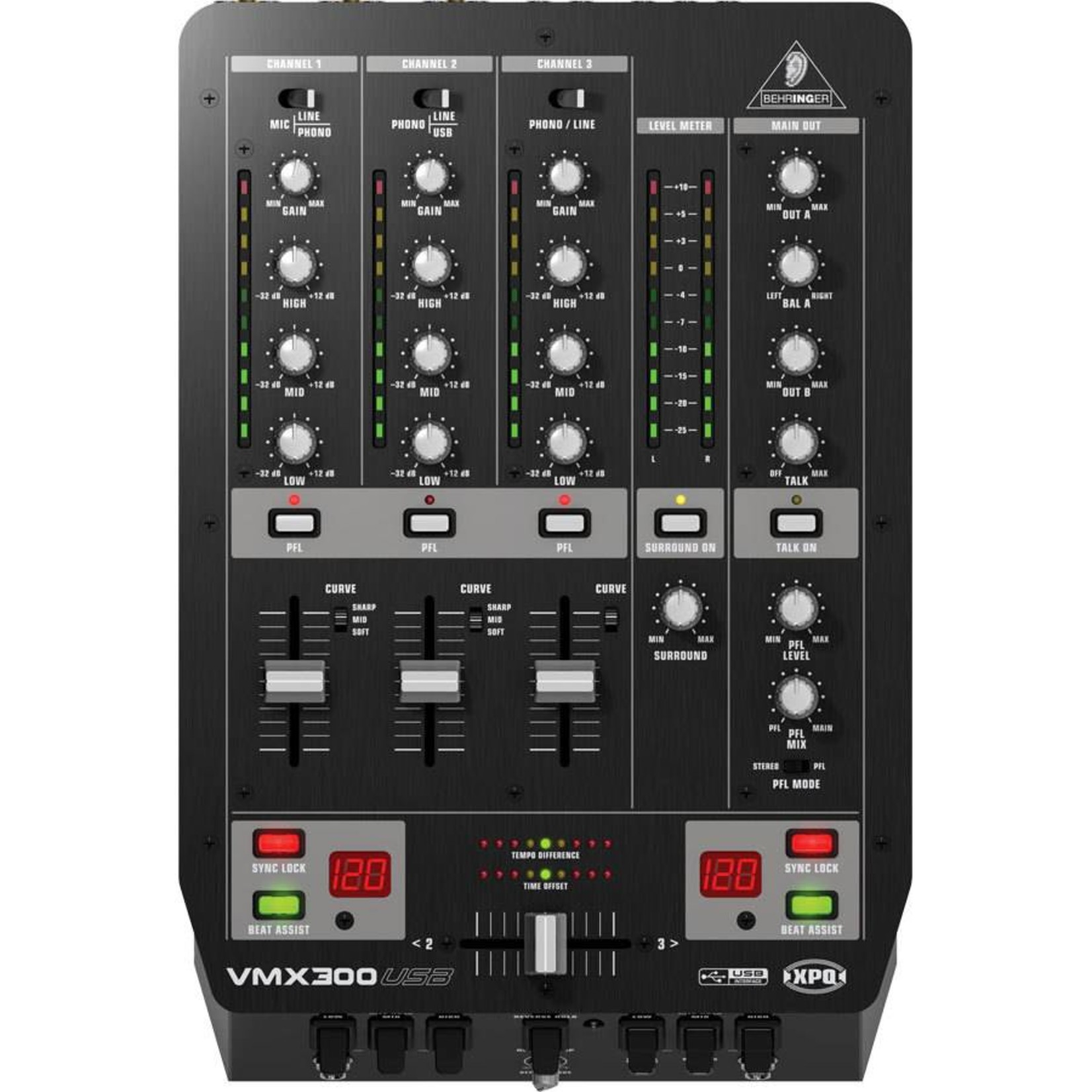 BEHRINGER VMX300USB BEHRINGER