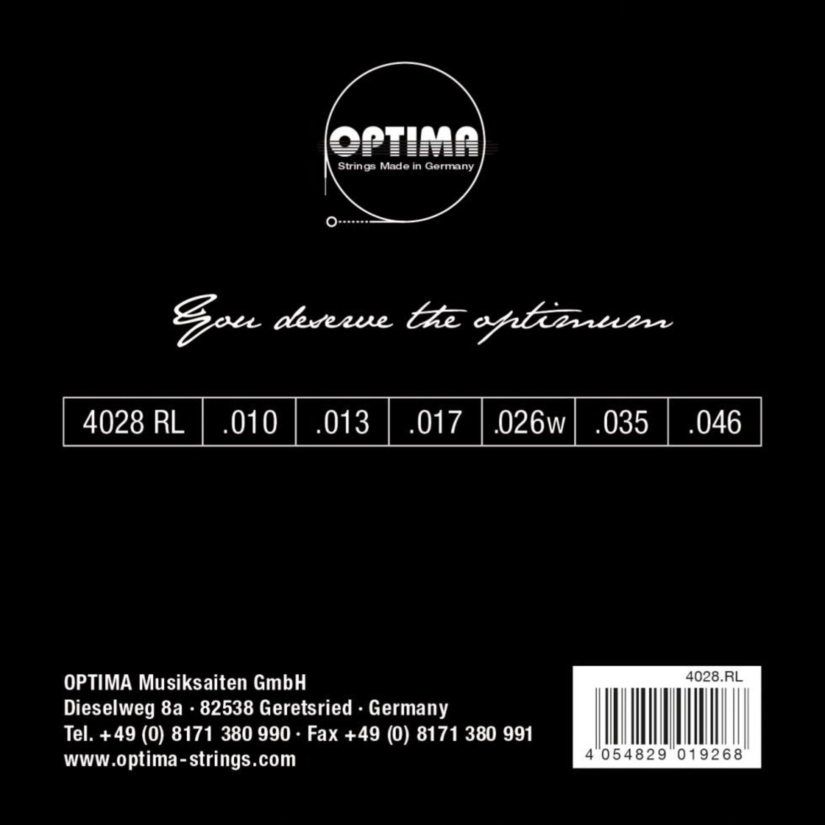 OPTIMA 4028RL CHROME OPTIMA
