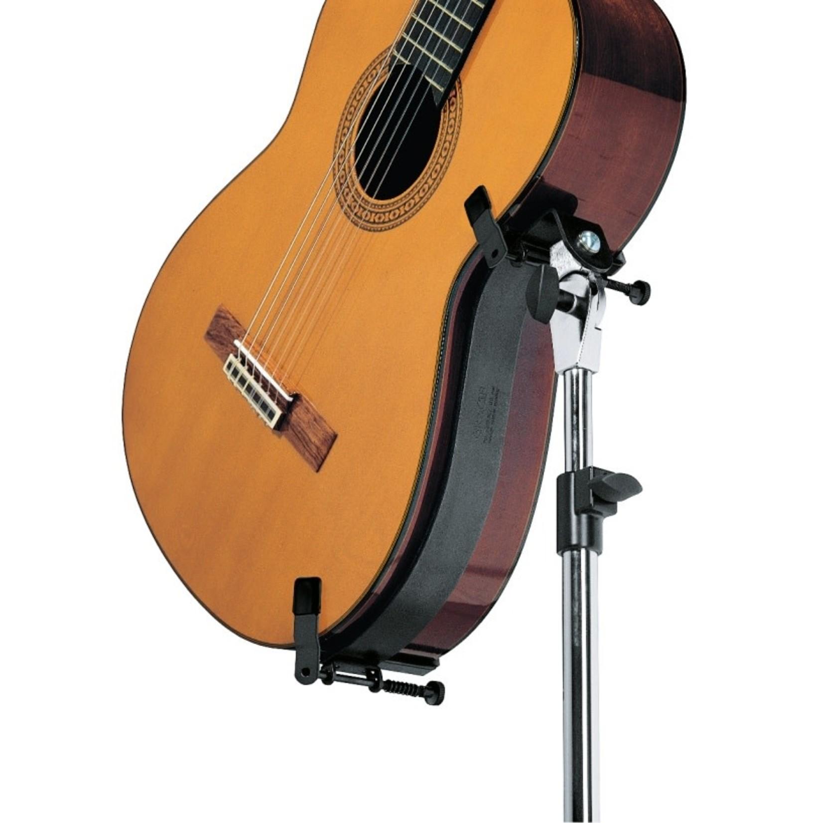 K&M Black Performer Guitar Stand for Acoustic Guitars