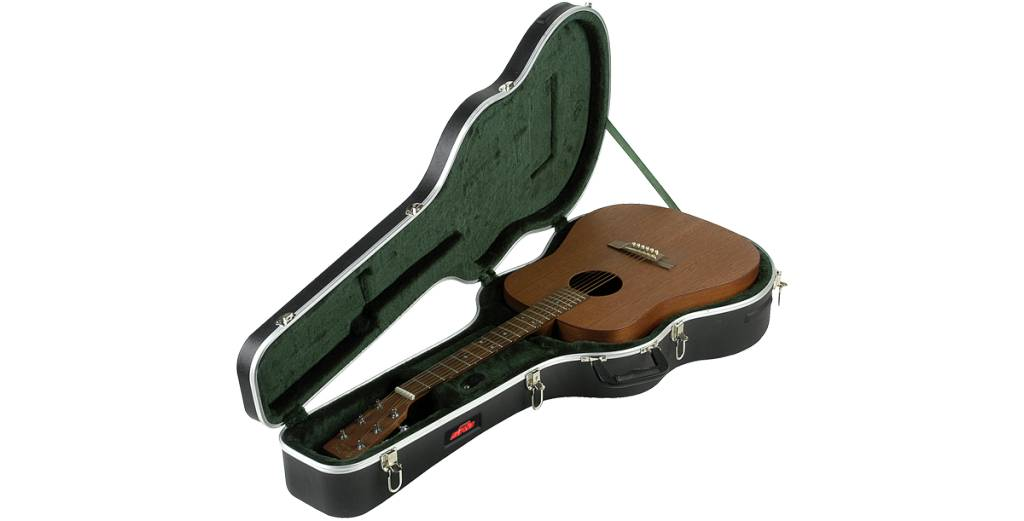 SKB ABS Acoustic Guitar Case for Dreadnaught Style