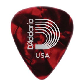 DAddario Planet Waves CELLULOID RED PEARL .70MM 10PK D'ADDARIO