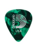 PLANET WAVES CELLULOID GREEN PEARL .70MM 10PK D'ADDARIO