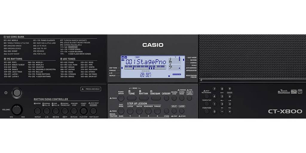 CASIO CT-X800 CASIO