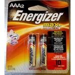 ENERGIZER E92BP-2 AAA ENERGIZER