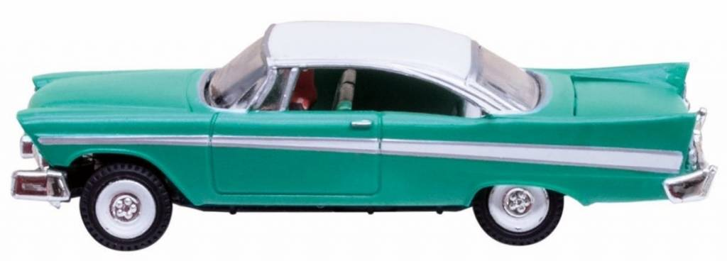 Woodland Senics #JP5620, N scale Just Plug Fancy Fins vehicle