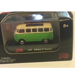 High Speed VW T1 Samba Bus - HO - Cream/Green