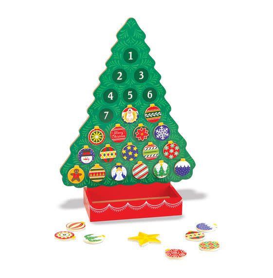 Melissa & Doug Countdown to Christmas Advent Calander