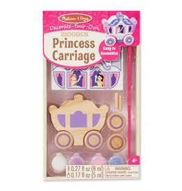 Melissa & Doug WOODEN DYO PAINT - Princess Carriage