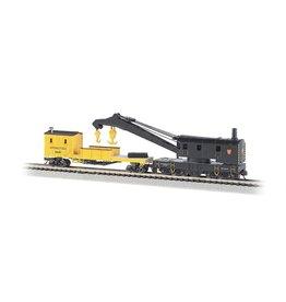 BAC #BAC46613, Bachmann N Scale 250-Ton Steam Crane w/Boom Tender, PRR