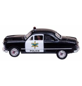 WOO #JP5593, Woodland Scenics Just Plug Police Car HO