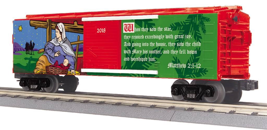 MTH - RailKing Christmas Boxcar