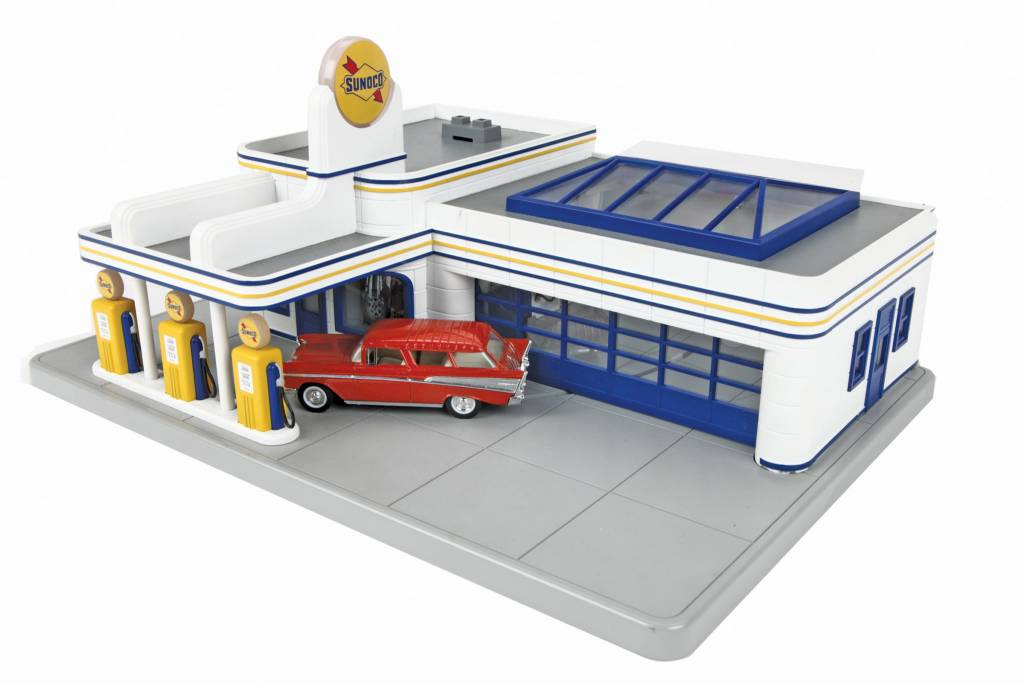 MTH - RailKing 30-9195 Sunoco Oper. Gas Station