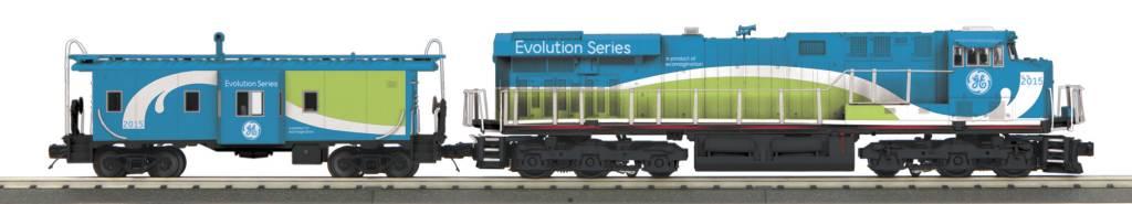 MTH - RailKing 30-20524-1 GE Demo ES44AC Diesel Engine and Caboose