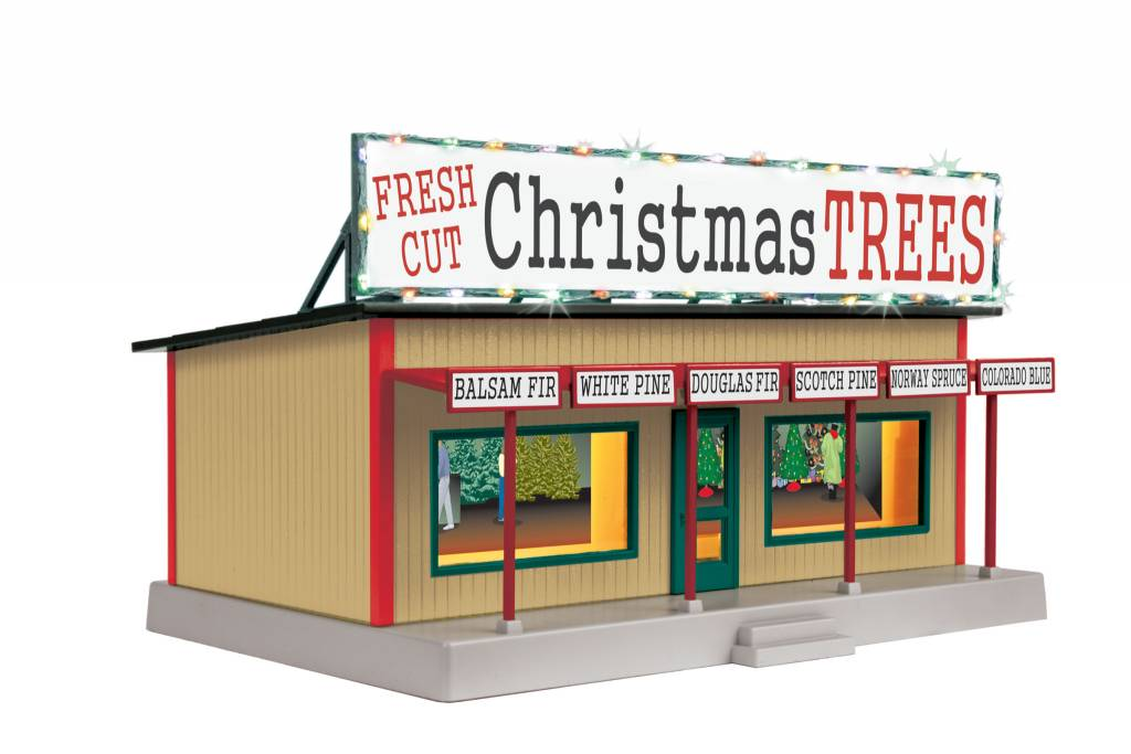 MTH - RailKing 30-90577 Road Side Stand w/ Christmas Lights