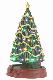 MTH - Lionel Corporation Tinplate #30-11088, MTH Town Square Christmas Tree W/LED Lights
