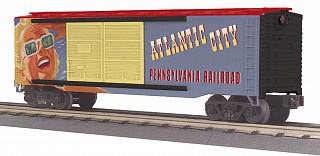 MTH #30-74946, PRR Atlantic City 40' Double Door Box Car