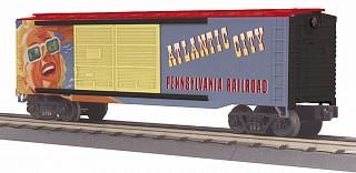 MTH - RailKing #30-74946, PRR Atlantic City 40' Double Door Box Car