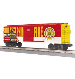 MTH - RailKing 30-74911 Phila Fire Dept. Boxcar