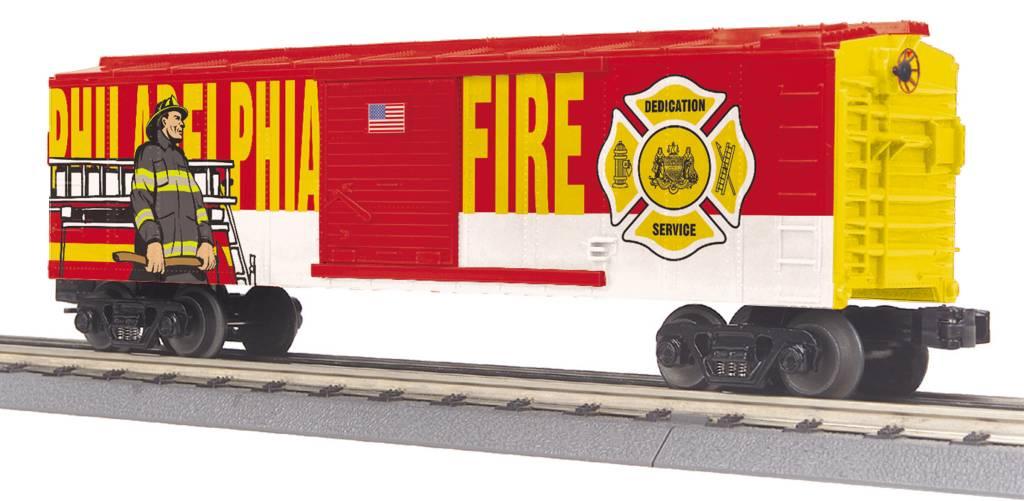 MTH - RailKing 30-74911 Phila Fire Dept. Boxcar