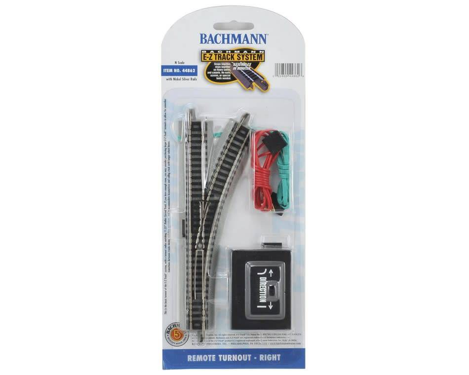 BAC Bachmann N Scale  EZ Remote Right-Hand Switch