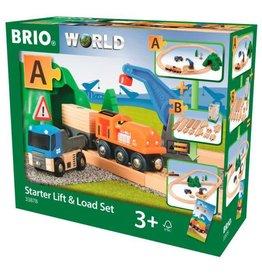 BRIO BRIO - STARTER LIFT & LOAD SET