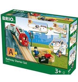 "BRIO BRIO - RAILWAY STARTER SET  ""A"""