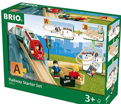 BRIO RAILWAY STARTER SET