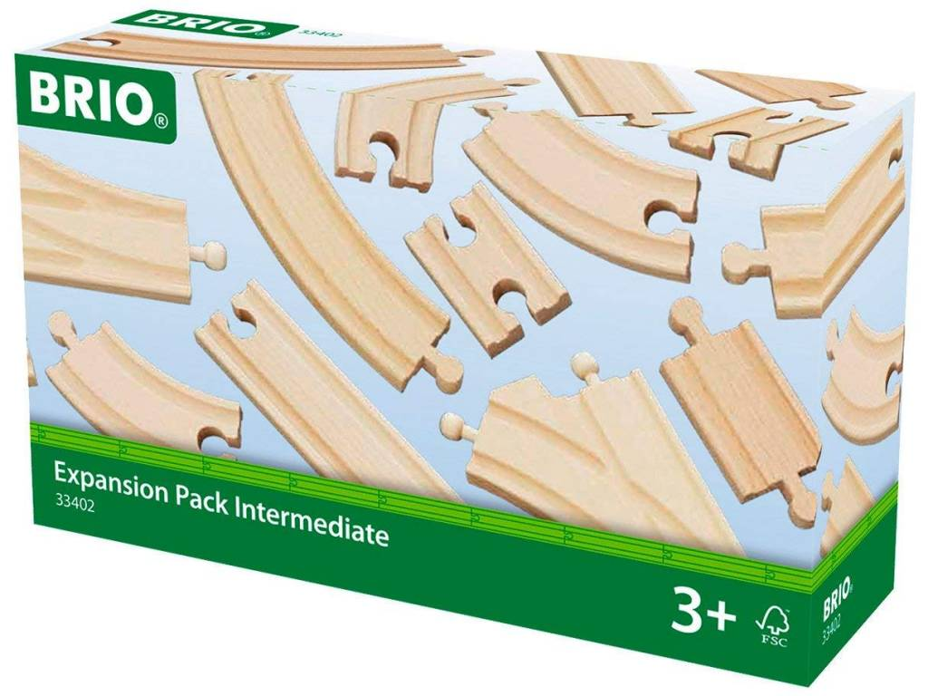 BRIO EXPANSION PACK INTERMEDIATE - Wooden Track