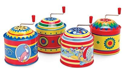 Schylling Tin Music Boxes