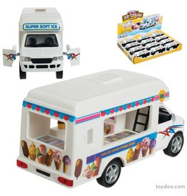 Schylling Die Cast Food Trucks Assorted - Friction Pull Back