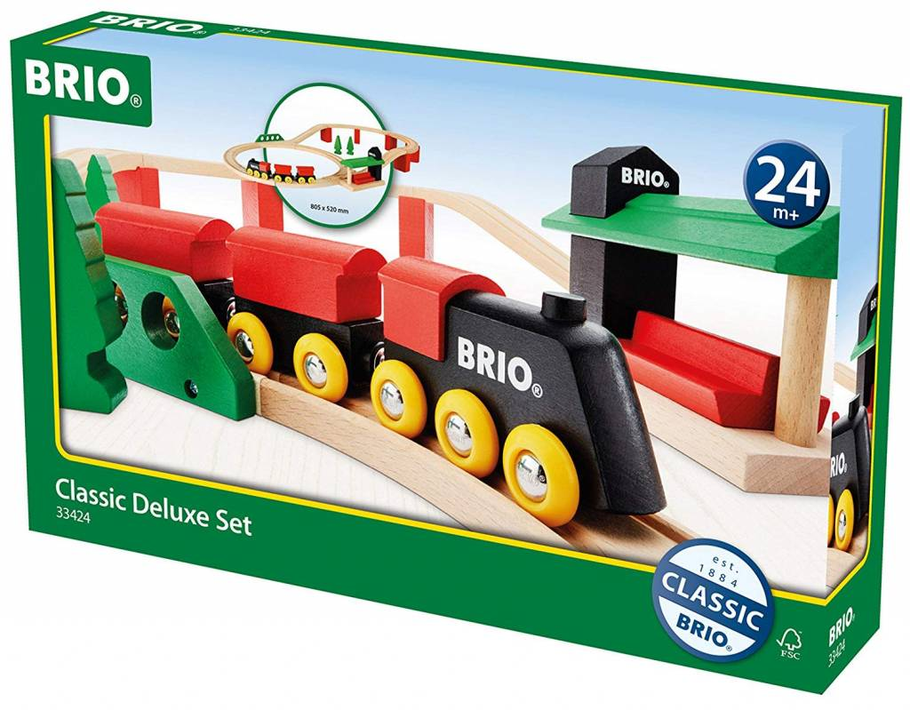 BRIO Classic Deluxe Train Set