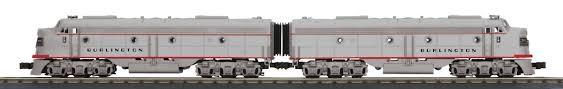 MTH - RailKing 30-20620-1 Burlington E8 Diesel Set