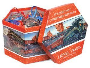 Lionel Lionel Post-War Ornament Gift Box