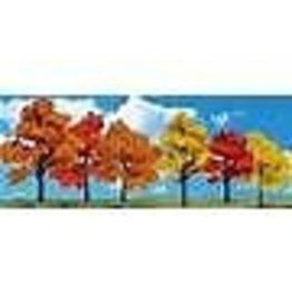 "WOO #TR3540, Woodland Scenics Harvest Blaze Trees 1 1/4""- 3"" (9)"