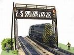 Pastime Hobbies #102, Pastime Hobbies N Scale signal bridge