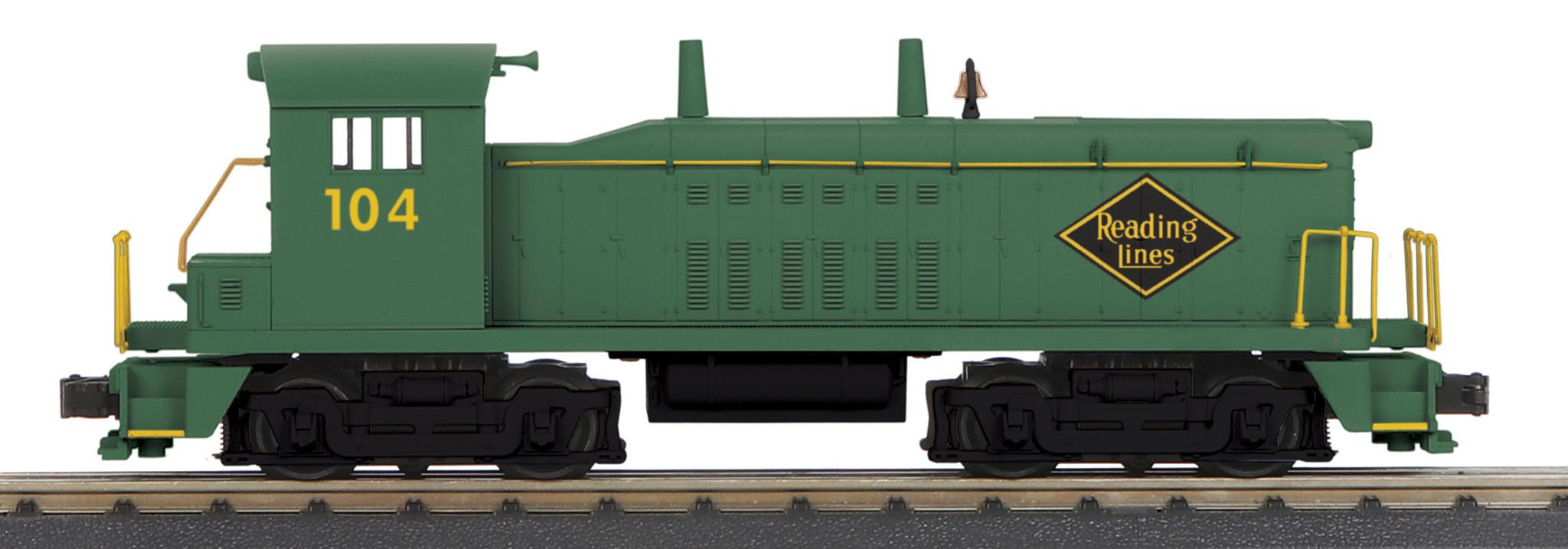 MTH - RailKing Reading NW-2 Switcher Diesel Engine W/ Proto-Sound 3.0