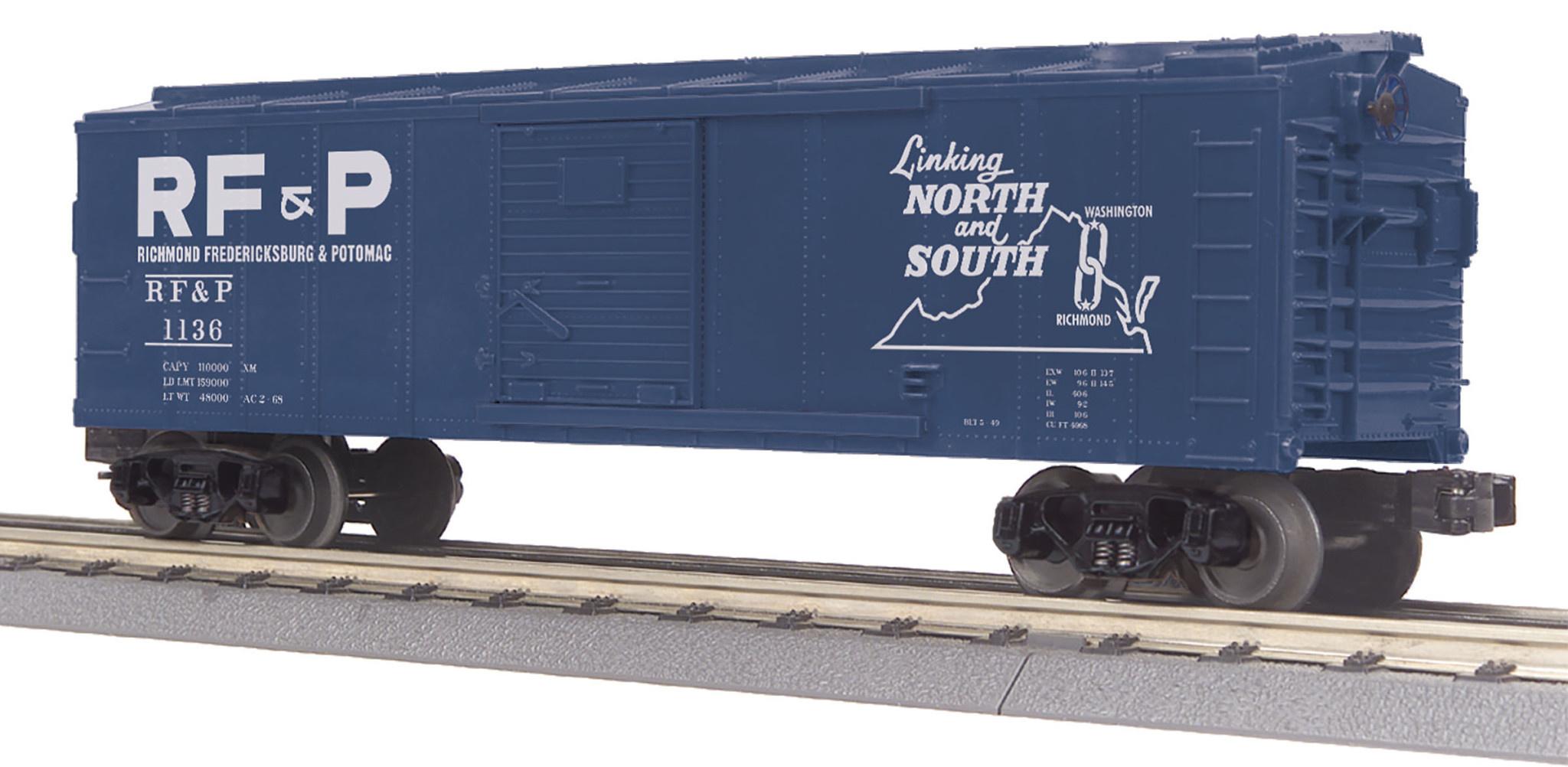 MTH - RailKing Richmond Fredericksburg & Patomac Boxcar
