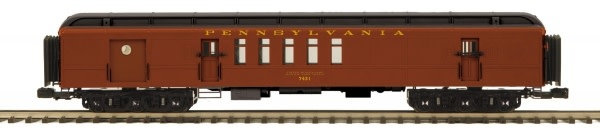MTH - Premier #20-40064, MTH Pennsylvania 70' Madison RPO Passenger set