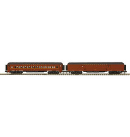 #20-40063, MTH Pennsylvania 2-car 70' Madison Baggage/Coach set