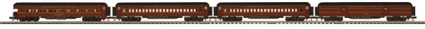 MTH - Premier #20-40061, MTH Pennsylvania 4-car 70' Madison Passenger Set