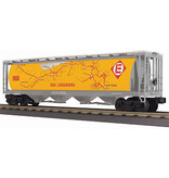 MTH - RailKing #30-75632, Erie Lackawanna 4-Bay Cylindrical Hopper Car