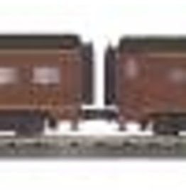MTH - RailKing #30-68115, Norfolk & Western 2-Car 60' Sleeper/Diner Passenger Set